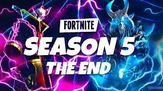 HOW SEASON 5 WILL END LEAKED! *CUBE EXPLOSION* - Fortnite Battle Royale Season 5 Ending Explained