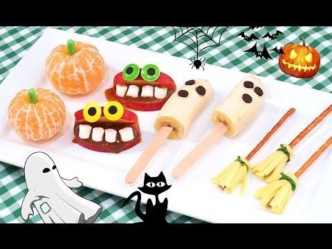 Snacks Muy Fáciles y Rápidos para Halloween
