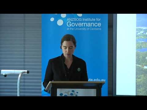 ANZSIG - National Capital Authority: The Long View in Canberra