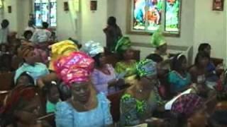 Uka Nkuputanwa Iberosi Twins: Nigeria- Igbo Catholic Association Atlanta GA Mass in Igbo Language