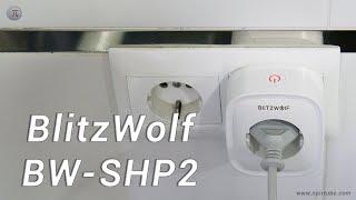 Enchufe inteligente BlitzWolf BW SHP2 ✔ Barato ✔ Compacto ✔ Control por voz