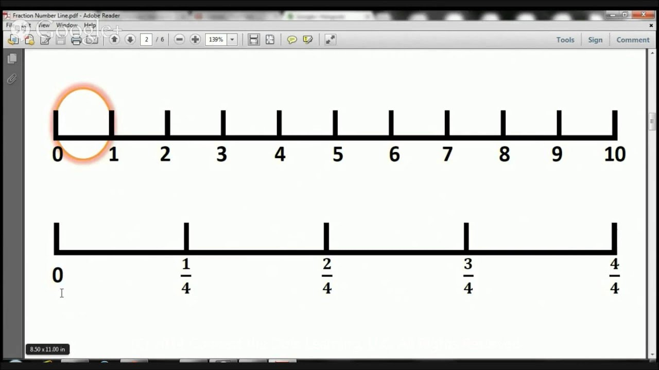 3rd grade fractions number line lesson 2 youtube