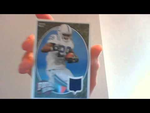 Joseph Addai Jersey Card for caseykc18