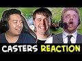 All CASTERS REACTIONS — Fnatic vs Secret COMEBACK