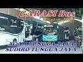 GARASI Bus AGAM TUNGGA JAYA Sudiro tungga jaya Magetan