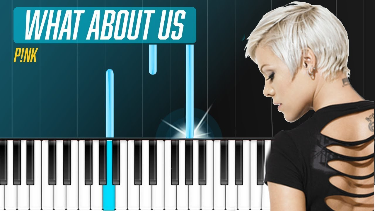 "Check Out The Pro Pics From Our Hot Pink Destination: ""What About Us"" Piano Tutorial"