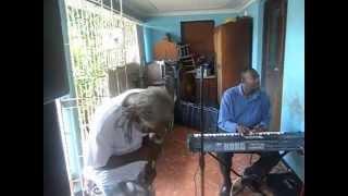 Dennis Walks doing Heart Dont Leap @ High Symbol Band Rehearsal for Reggae Kulcha Shock