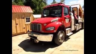 Freightliner Shed Delivery Truck