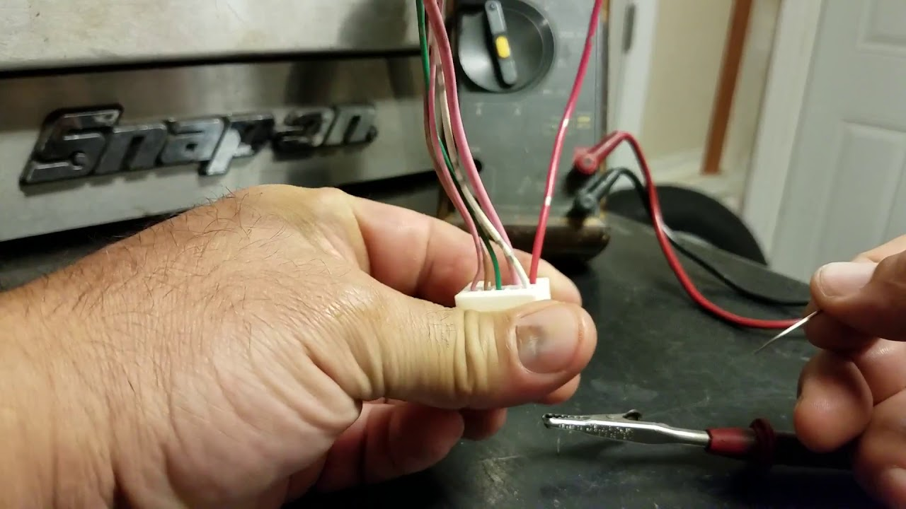 How To Probe Back A Automotive Electrical Connector Youtube Wiring Supplies