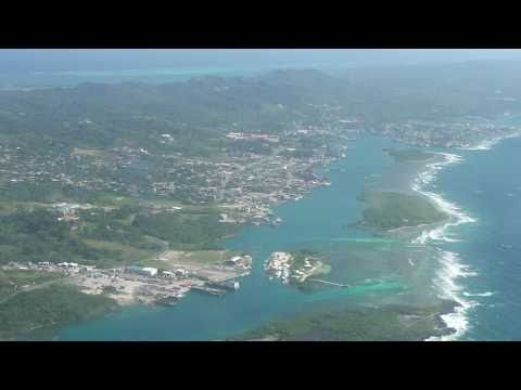Roatan SOSA flight back to San Pedro Sula