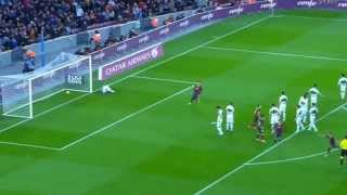 Alexis sanchez all hattrick goals vs elche | barcelona 4-0 1/5/2014 la liga # please like if you subscribe us here http://www./subscr...