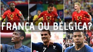 Pré-jogo: França e Bélgica abrem as semifinais da Copa do Mundo 2018