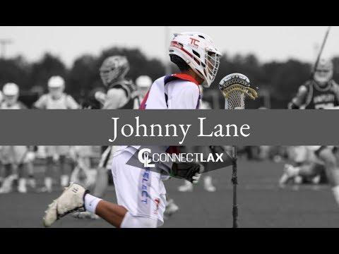 Johnny Lane Lacrosse Highlights | MN 2020 | Mid