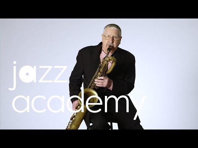 Joe Temperley's Baritone Sax Warm-Up, Part 2