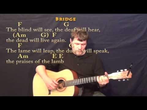 Mary Did You Know Strum Guitar Cover Lesson in Am with Chords Lyrics ...