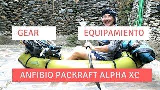 Anfibio packraft unboxing Alpha XC