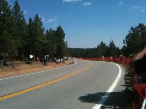Paul Dallenbach Crash at Pikes Peak International Hill Climb 2012