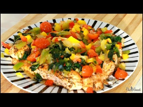 Easy Healthy Oven Baked Salmon