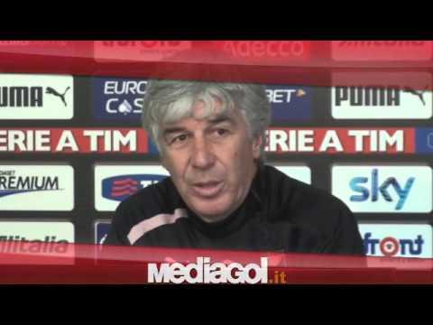 (2/2)Gian Piero Gasperini in conferenza stampa vigilia Parma-Palermo - 05/01/2012 - Mediagol.it