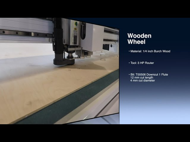 Making a Wooden Wheel with the Sharpcut