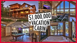 VLOGMAS DAY 17 & 18: WE STAYED IN A 1,000,000 CABIN!