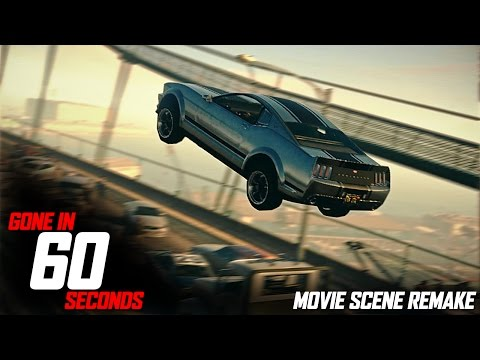 Grand Theft Auto 5 - Gone in 60 Seconds - Jump Scene
