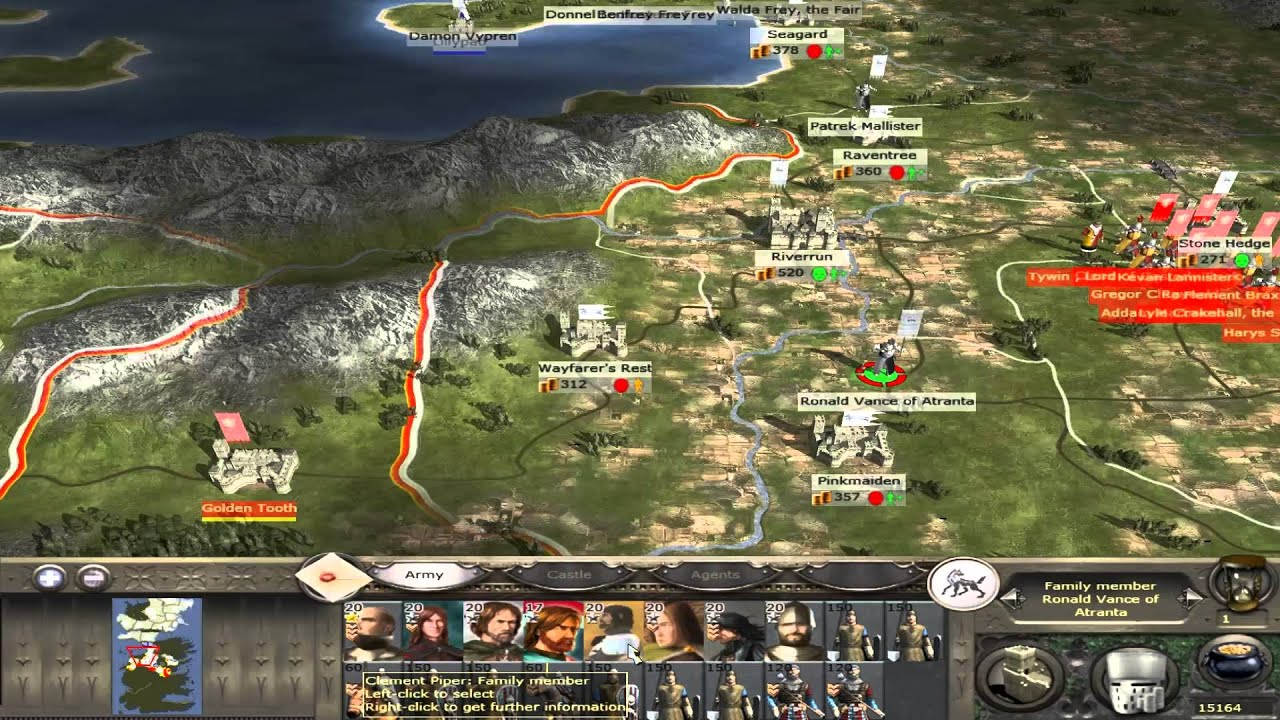 Let`s Play Medieval 2 Total War: Westeros - Realms #1 ...