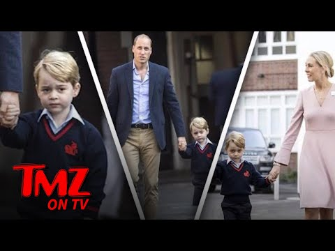 Prince George – First Day of Kindergarten! | TMZ TV