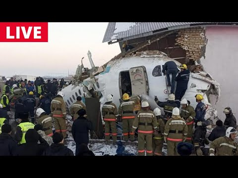 Kazakhstan Plane Crash Live Updates: Plane with 100 people on board crashes | NewsX