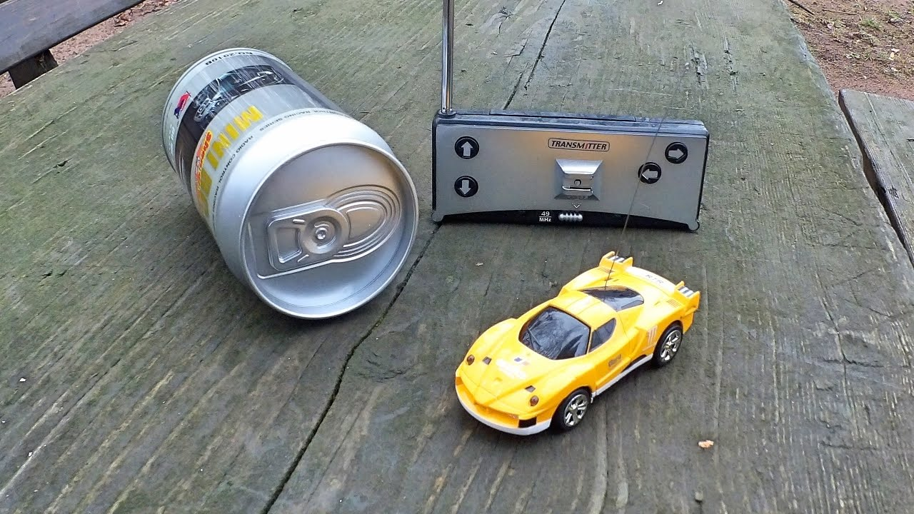 coke can mini rc car rc auto in der dose von youtube. Black Bedroom Furniture Sets. Home Design Ideas