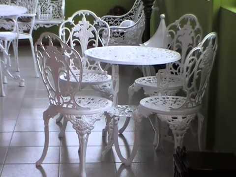Vuelve lo clásico: muebles de jardín Fundiviana - YouTube