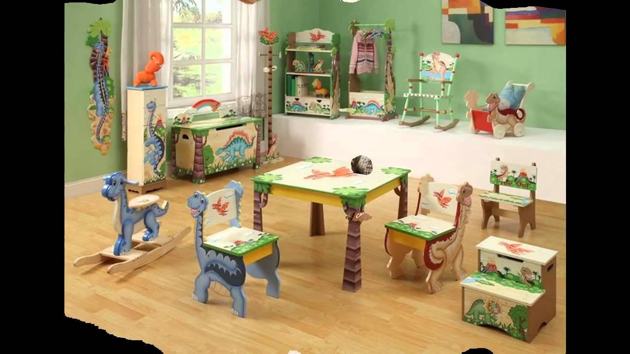 Dinosaur Themed bedroom design ideas - YouTube