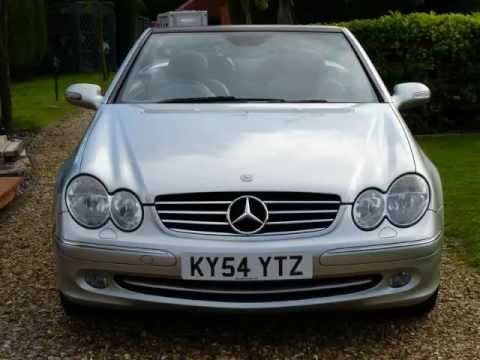 mercedes clk 200 kompressor avantgarde auto convertible 2004 for sale sdsc specialist cars youtube. Black Bedroom Furniture Sets. Home Design Ideas