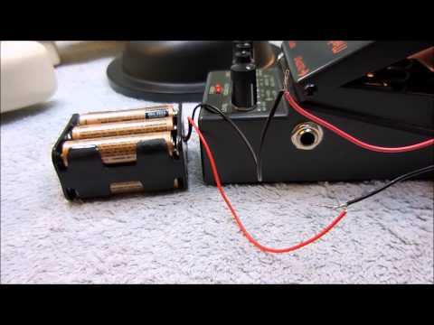 convert guitar pedal to aa battery pack youtube. Black Bedroom Furniture Sets. Home Design Ideas