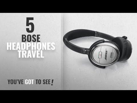 Top 5 Bose Headphones Travel [2018]: Bose QuietComfort 3 Acoustic Noise Cancelling Headphones,