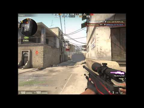 Counter-Strike:Global Offensive South African Dust II Game-Play #1