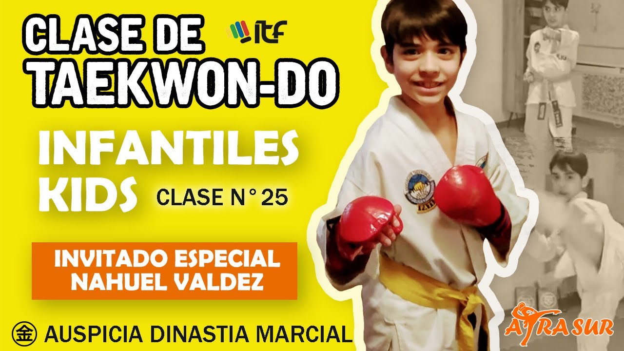 Taekwondo en Casa | Kids - Infantiles | Clase N° 25