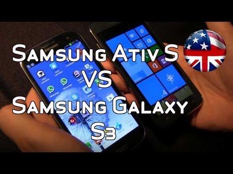 Samsung Ativ S vs Samsung Galaxy S3 - Comparison