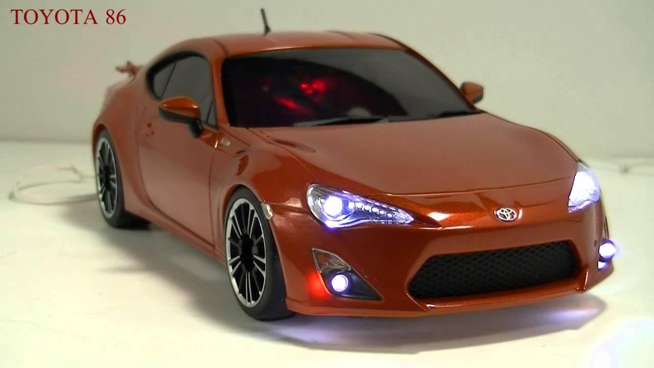 Toyota Ft 86 >> 【ミニッツ電飾】 TOYOTA FT-86 メタリックオレンジ 【Mini-z Ligiht】 - YouTube