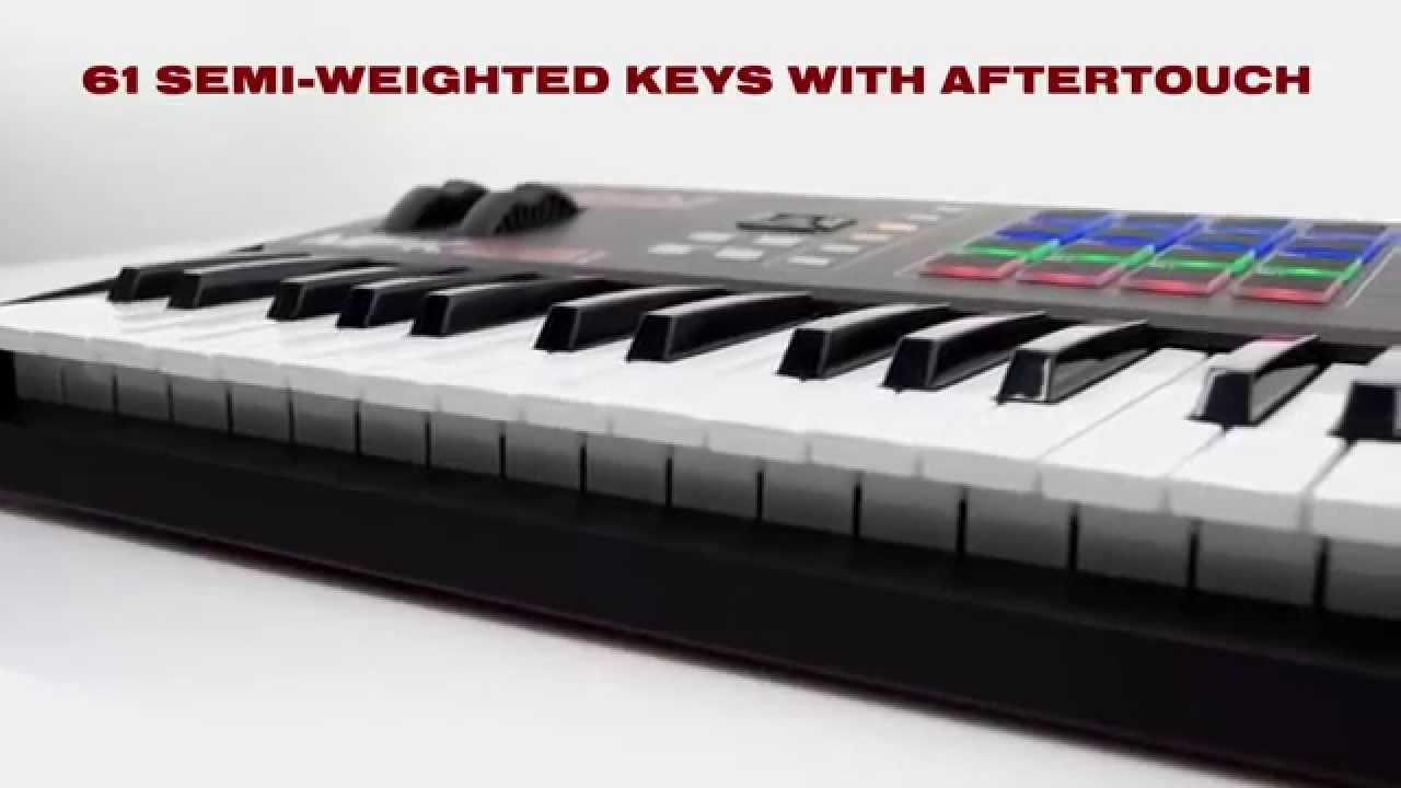 New Akai Professional MPK261 Keyboard & Pad Controller  www licht-produktiv de