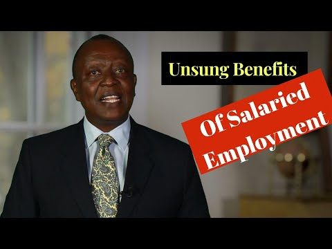 The Unsung Benefits Of Salaried Employment