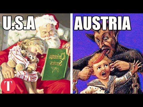 10 WEIRD Holiday Traditions From Around The World