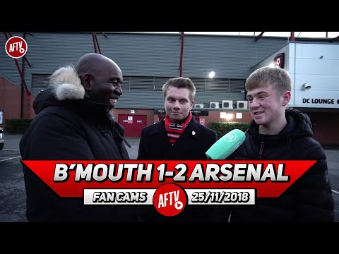 Bournemouth 1-2 Arsenal | Unai Emery's Philosophy Has Galvanised Your Team! (Bournemouth Fans)