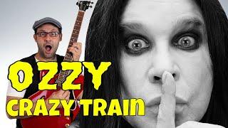 CRAZY TRAIN: Ozzy Osbourne tutorial chitarra