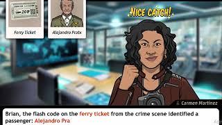 Criminal Case Save The World Case 48 Examine Ferry Ticket
