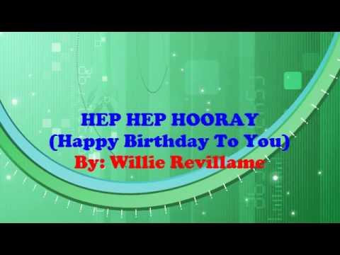 Hep Hep Hooray