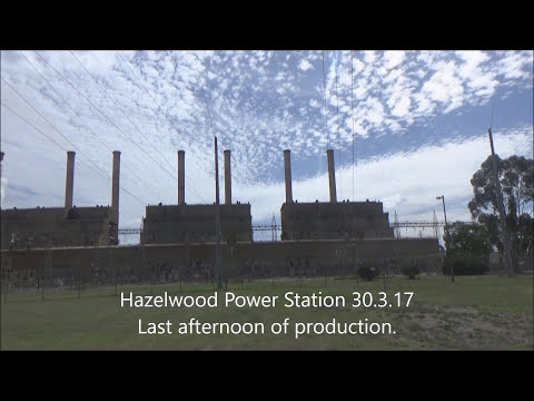 Hazelwood Power Station - Last day in production