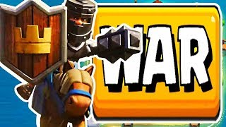CLAN WAR Come Back! - Clash Royale