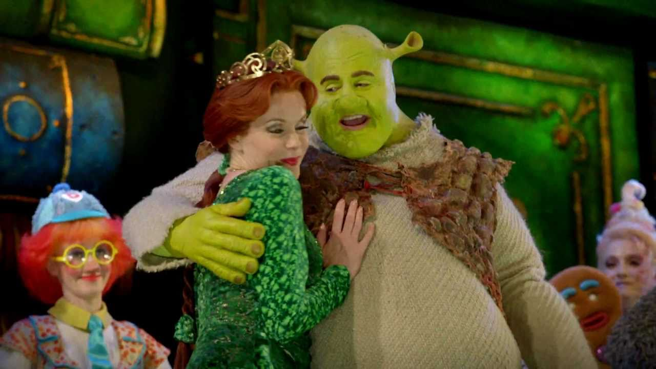 Shrek The Musical Trailer Youtube