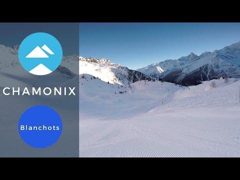 Blue Piste Blanchots Le Brévent, Chamonix-Mont-Blanc | Piste View